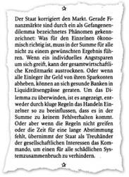 """Prof. Dr. Thomas Straubhaar nennt am 18. Oktober 2008 in """"Die Welt"""" """"zehn gründe für einen starken Staat, aber auch freie Märkte."""""""