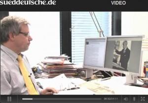 Hier geht's zum VideoBlog mit Marc Beise von der Süddeutschen Zeitung