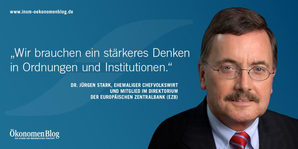 INSM-Botschafter Jürgen Stark