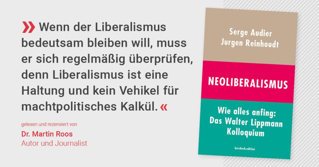 Neoliberalismus – oder: Die Wiederbelebung der sozialen Frage