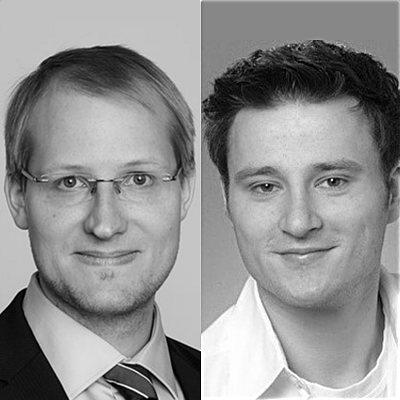 Thomas Köster und Justus Lenz