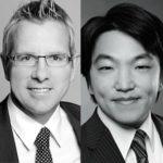 Prof. Dr. Gunther Schnabl und Taiki Murai