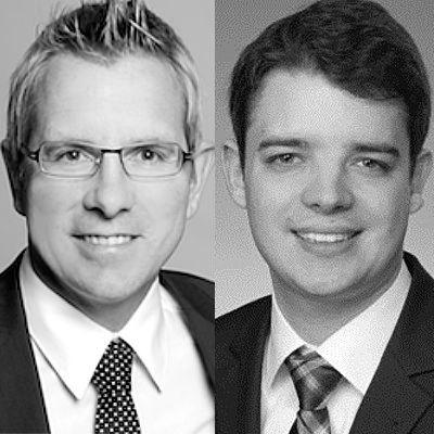 Prof. Dr. Gunther Schnabl und Sebastian Müller
