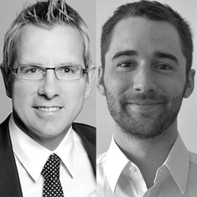 Prof. Dr. Gunther Schnabl und Tim Sepp