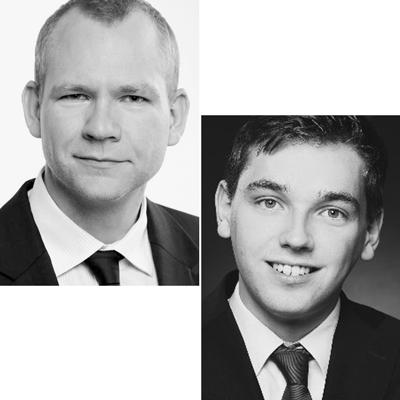 Dr. Alexander Fink und Fabian Kurz