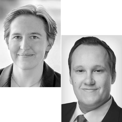 Dr. Judith Niehues und Dr. Maximilian Stockhausen