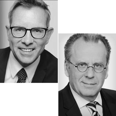 Prof. Dr. Gunther Schnabl und Klaus Siemon